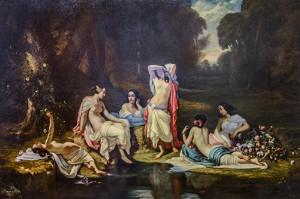 les baigneuses / Louis de Rudder