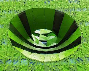 Le gouffre vert