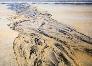 Motifs dans le sable