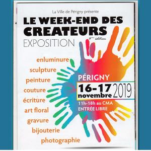 Week-end des créateurs Périgny 2019